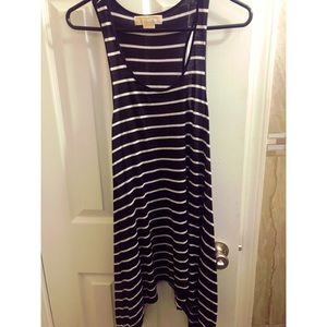 Striped Michael Kors Summer Dress 👗